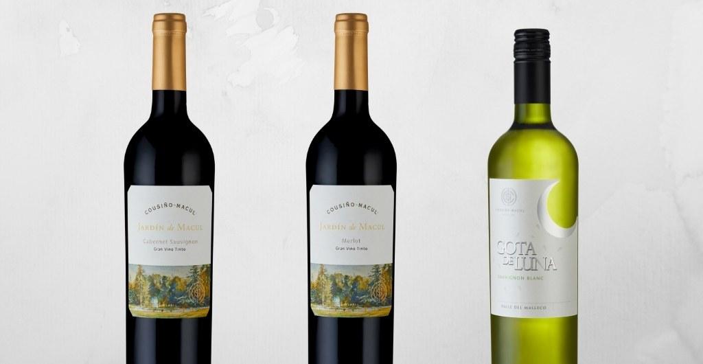Nuevos Vinos 2019 Jardin de Macul y Gota de Luna Cousino Macul