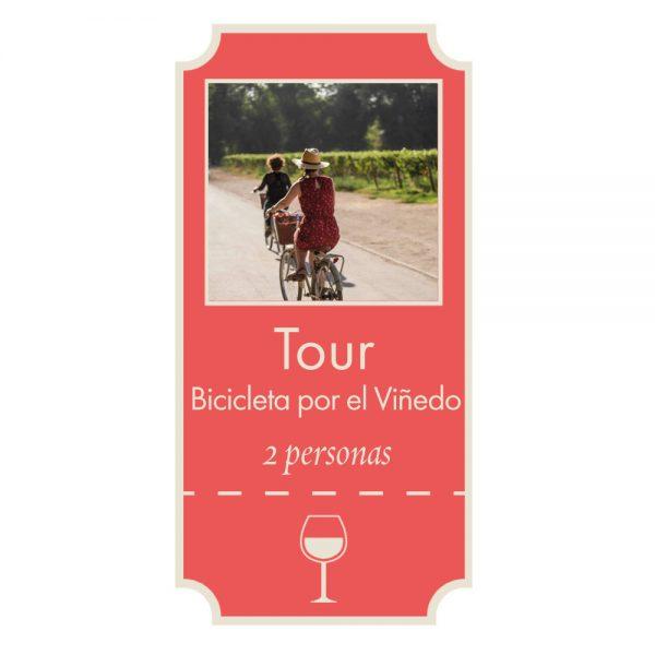 Giftcard Tour Bicicleta por el Viñedo Viña Cousiño Macul