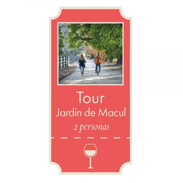 Giftcard Tour Jardín de Macul Viña Cousiño Macul