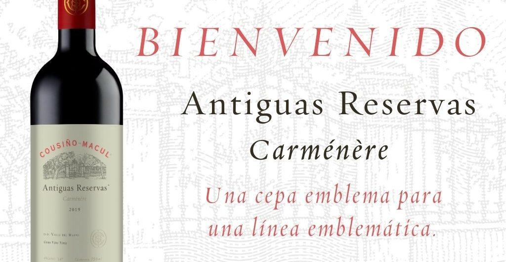 Nuevo Antiguas Reservas Carmenere Cousiño Macul